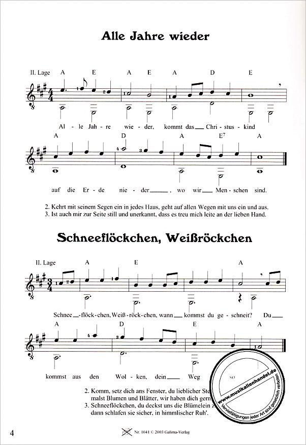 ADVENTS UND WEIHNACHTSLIEDER 2 - von Wagenschein Matthias - GALIMA ...