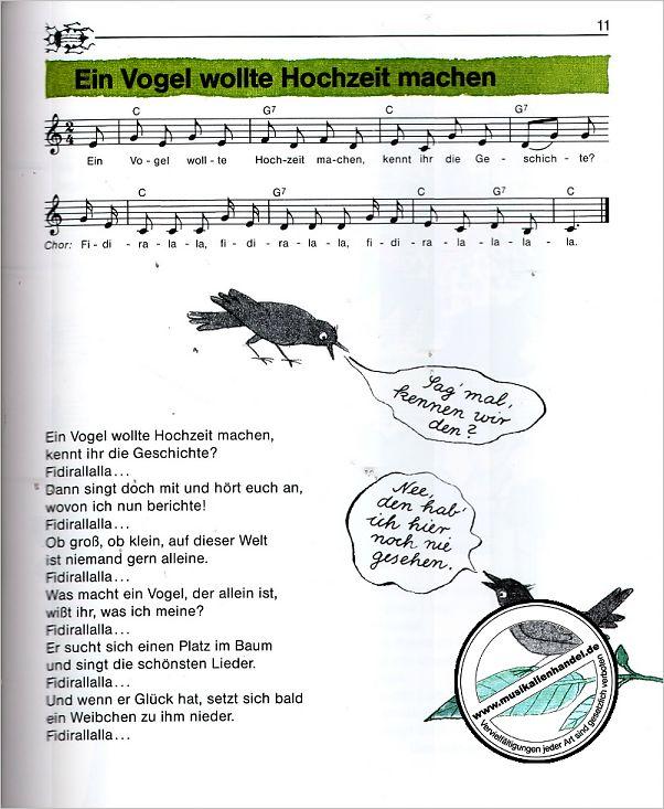 Lied Ein Vogel Wollte Hochzeit Machen
