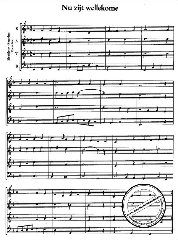 HOLLAENDISCHE WEIHNACHTSLIEDER - von Buis Paul - ZFS 679 - Noten