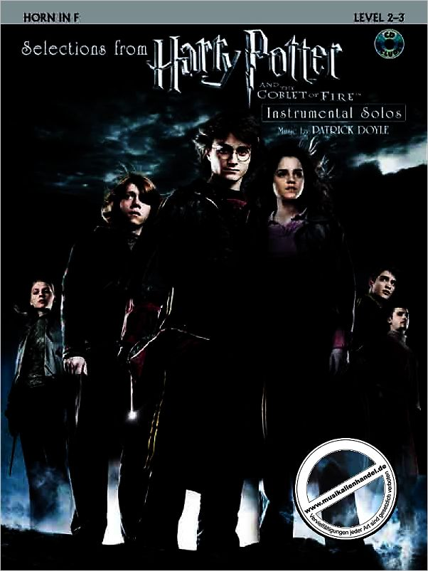 Titelbild für ALF 25412 - HARRY POTTER AND THE GOBLET OF FIRE