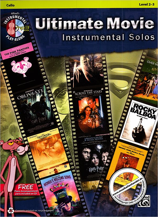 Titelbild für ALF 40132 - ULTIMATE MOVIE INSTRUMENTAL SOLOS