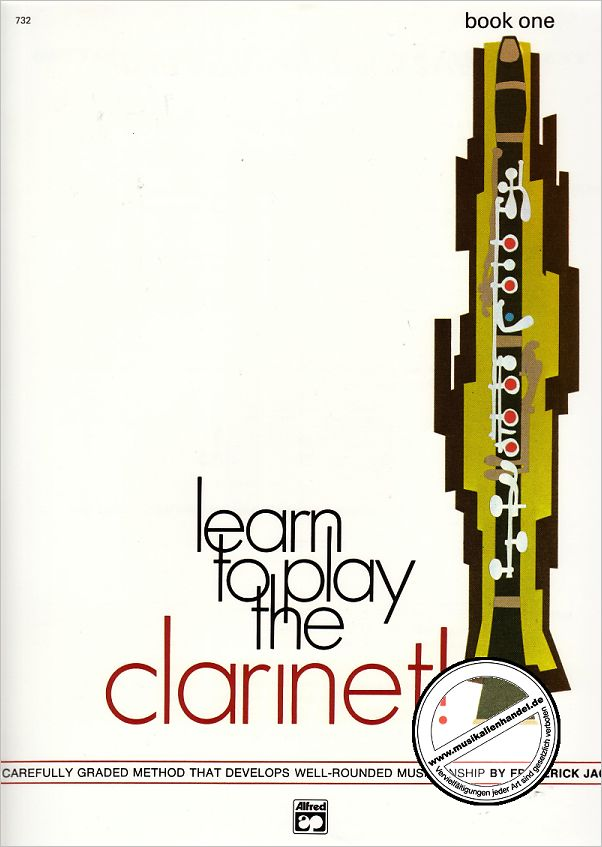 Titelbild für ALF 732 - LEARN TO PLAY THE CLARINET 1