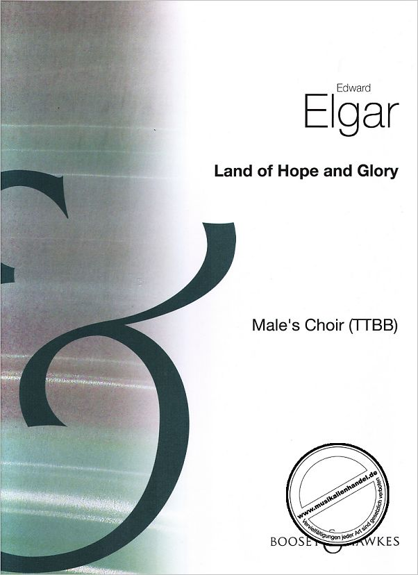 Titelbild für BH 80158 - LAND OF HOPE AND GLORY