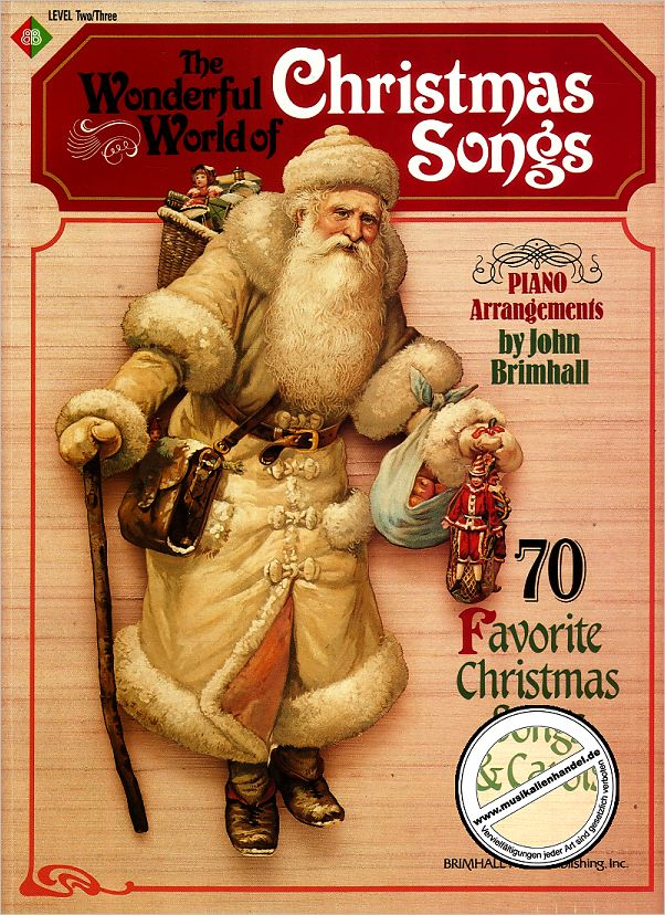Titelbild für BMP 402A - WONDERFUL WORLD OF CHRISTMAS SONGS