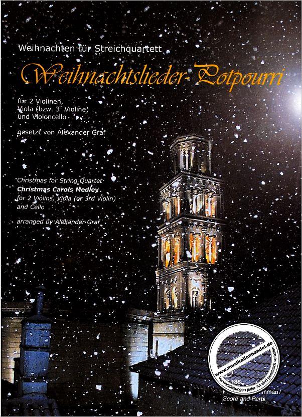 WEIHNACHTSLIEDER POTPOURRI - von Graf Alexander - DO 06188 - Noten