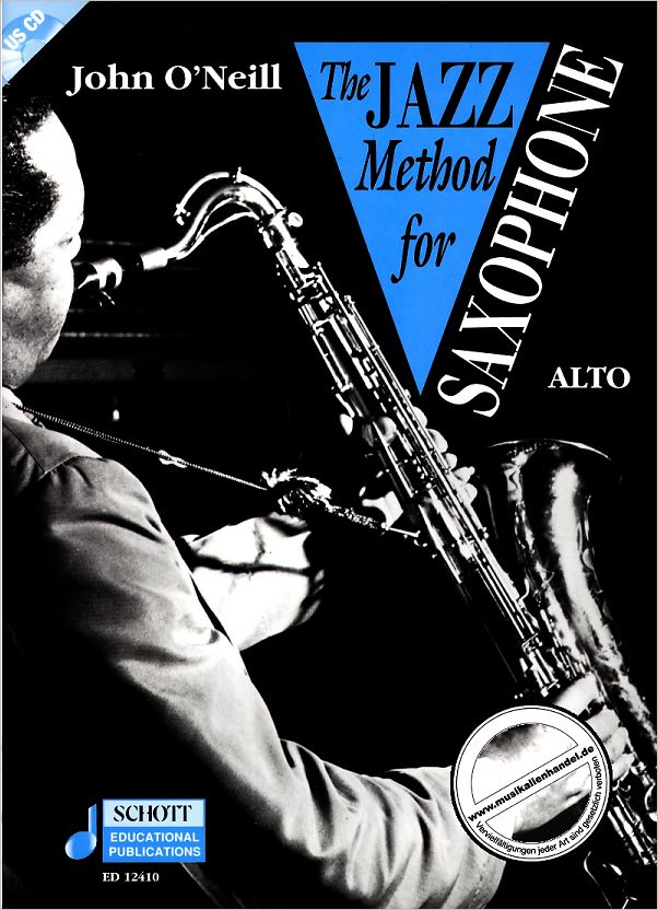 Titelbild für ED 12410 - JAZZ METHOD FOR ES-SAX
