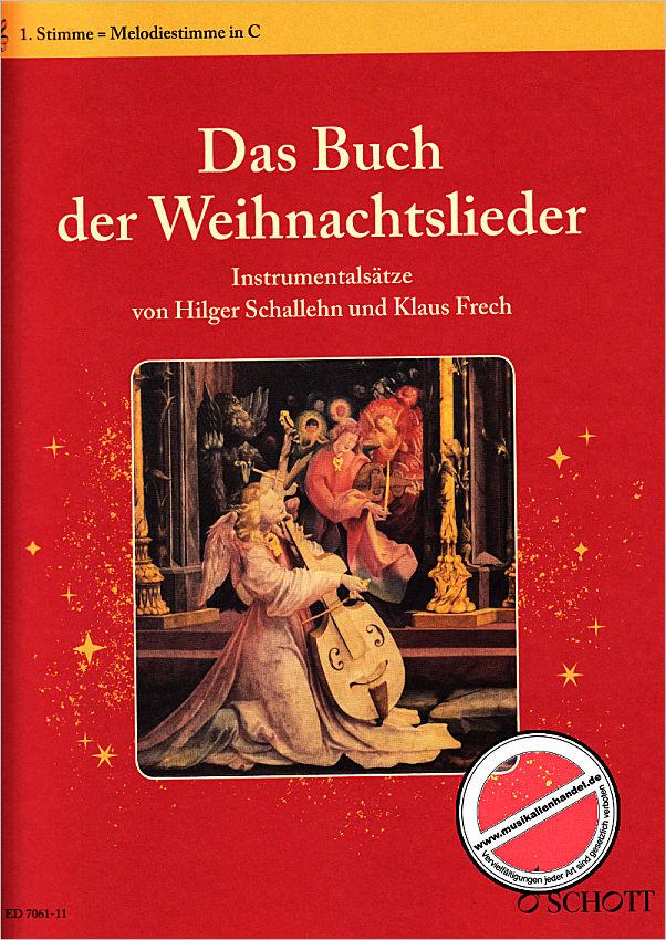 DAS BUCH DER WEIHNACHTSLIEDER - von Weber Kellermann Ingeborg - ED ...