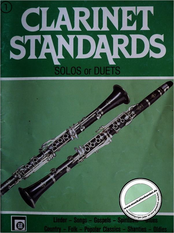 Titelbild für EMZ 2107558 - CLARINET STANDARDS 1