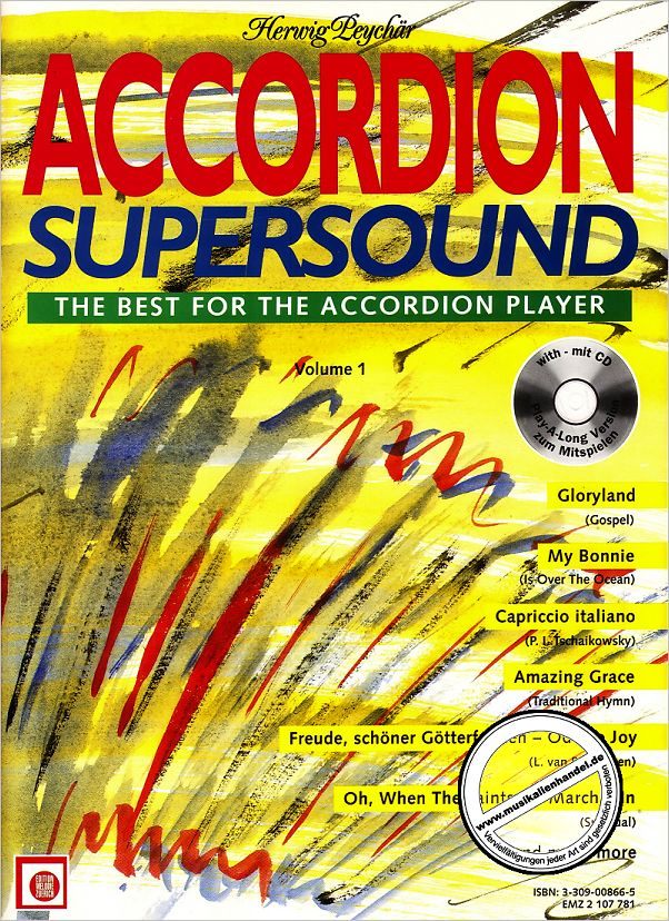 Titelbild für EMZ 2107781 - ACCORDION SUPERSOUND 1