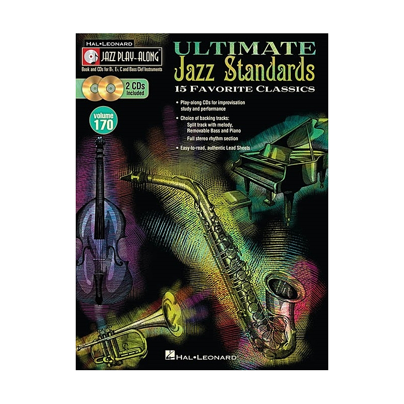 Titelbild für HL 109250 - ULTIMATE JAZZ STANDARDS