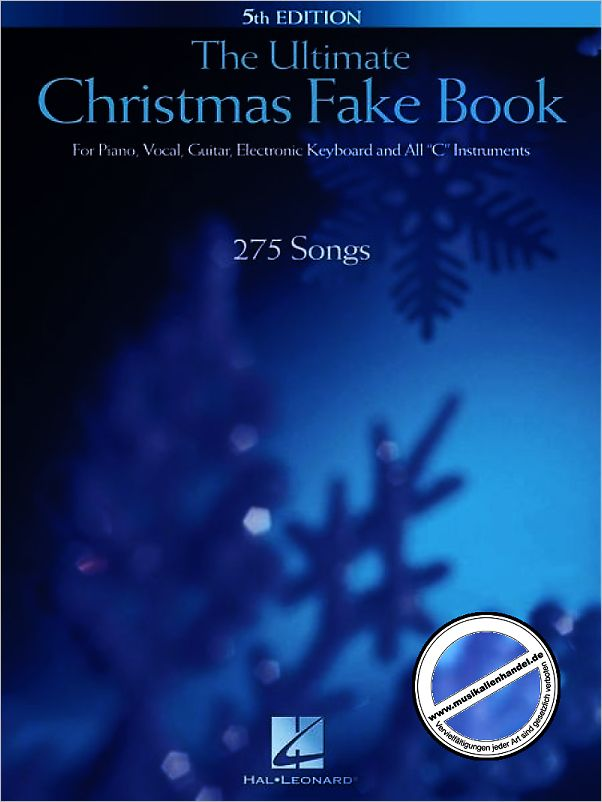 Titelbild für HL 240045 - ULTIMATE CHRISTMAS FAKE BOOK