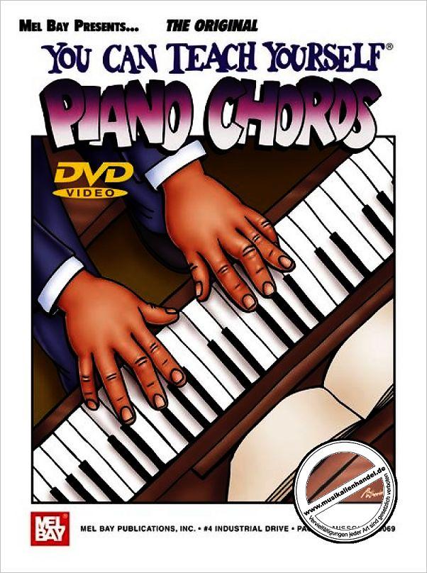 You Can Teach Yourself Piano Chords Von Danielsson Per Mb 20437