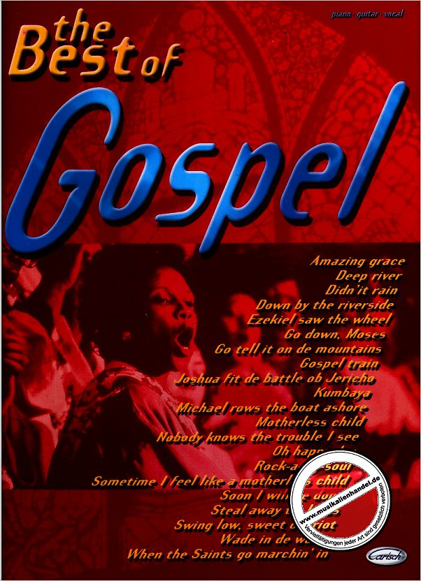 Titelbild für ML 2727 - THE BEST OF GOSPEL