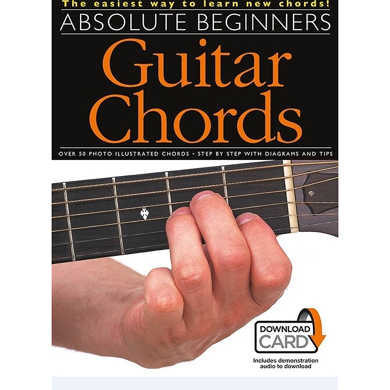 Titelbild für MSAM 969661 - ABSOLUTE BEGINNERS GUITAR CHORDS