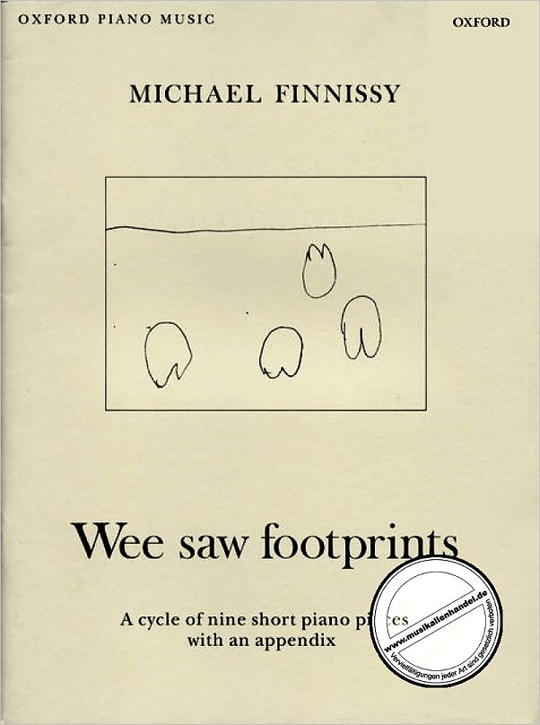 Titelbild für ISBN 0-19-372645-9 - WEE SAW FOOTPRINTS