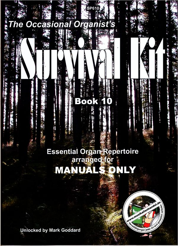Titelbild für SPARTAN 610 - THE OCCASIONAL ORGANIST'S SURVIVAL KIT 10
