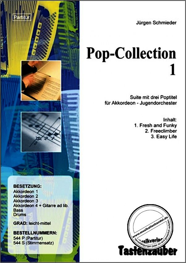 Titelbild für TAST 544-P - POP COLLECTION 1