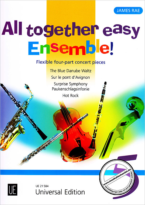 Titelbild für UE 21584 - ALL TOGETHER EASY ENSEMBLE 5