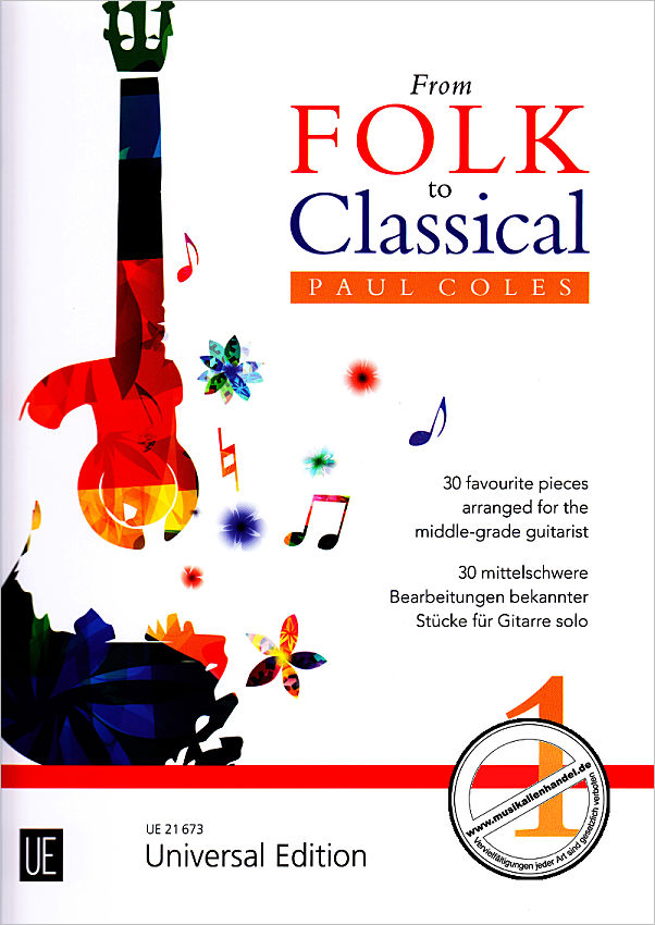 Titelbild für UE 21673 - FROM FOLK TO CLASSICAL 1