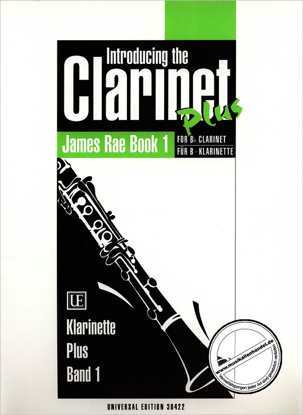 Titelbild für UE 30422 - CLARINET PLUS 1 INTRODUCING