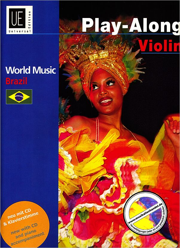 Titelbild für UE 34154 - WORLD MUSIC BRAZIL