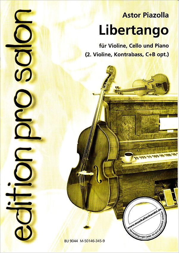 libertango - von piazzolla astor - uetz 9044 - noten