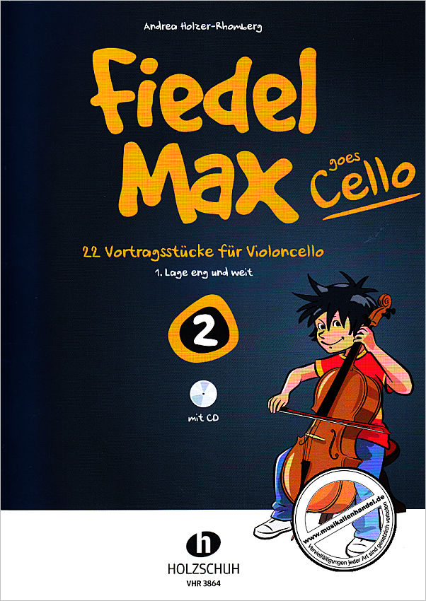 Titelbild für VHR 3864 - FIEDEL MAX GOES CELLO 2