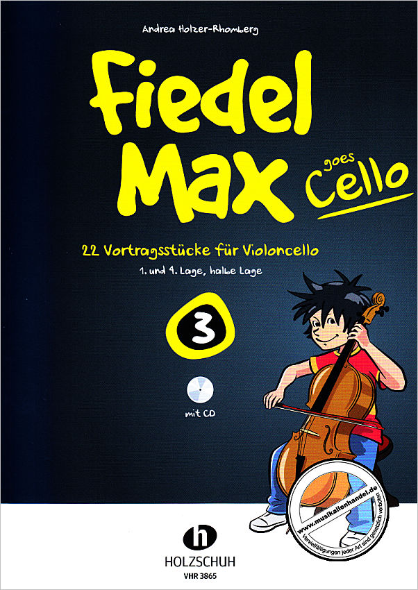Titelbild für VHR 3865 - FIEDEL MAX GOES CELLO 3