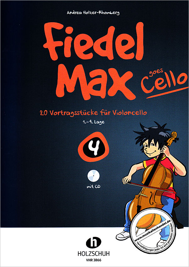 Titelbild für VHR 3866 - FIEDEL MAX GOES CELLO 4