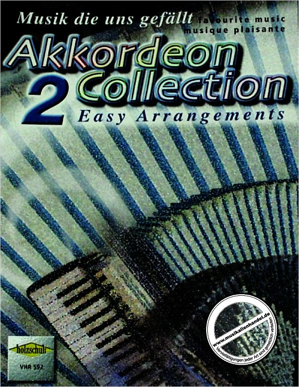 Titelbild für VHR 592 - AKKORDEON COLLECTION 2