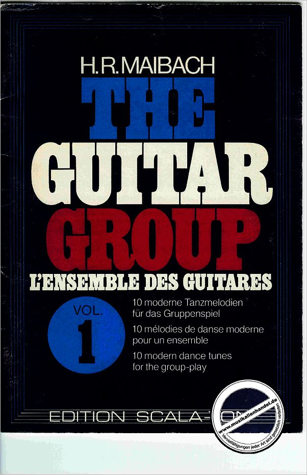 Titelbild für WILD 70006 - THE GUITAR GROUP 1