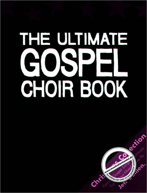 Titelbild für ZEBE 3038 - ULTIMATE GOSPEL CHOIR BOOK - CHRISTMAS COLLECTION