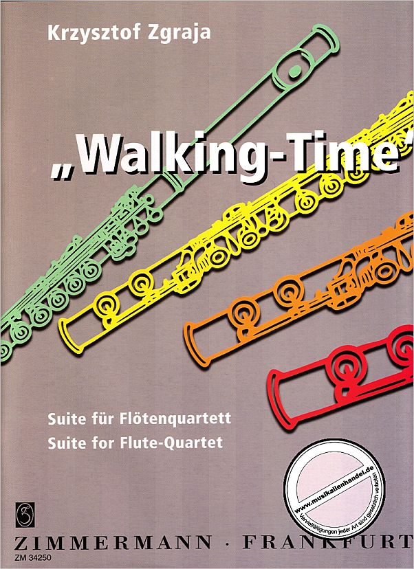 Titelbild für ZM 34250 - WALKING TIME - SUITE